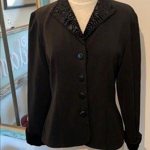 Black Button Down Jacket